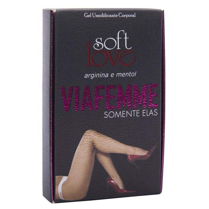 Excitante Feminino Via Femme 6g Soft Love