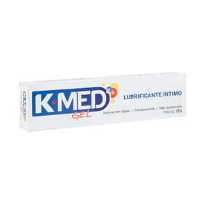 Kit 10 Unid. Lubrificante Intimo Neutro 25g K-Med
