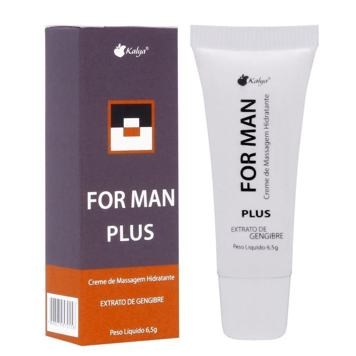 Prolongador Masculino For Man Plus 6,5g Kalya
