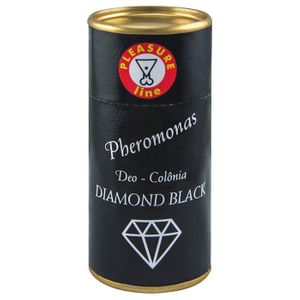 Perfume Pheromonas Diamond Black 20ml Validade 02/2019 Pleasure Line
