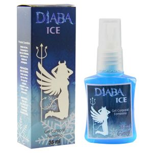 KIT 10 UNID. EXCITANTE FEMININO DIABA ICE 35ML GARJI