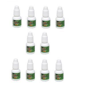 KIT 10 UNID. GOTAS EXCITANTES HOT 8ML HORTELÃ CHILLIES