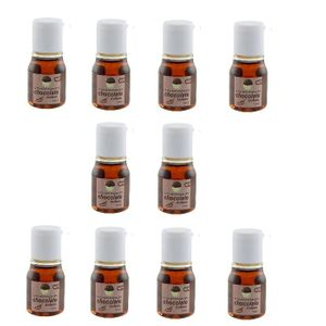 Kit 10 Unid. Óleo Comestível Hot 15ml Chocolate Chillies