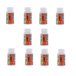 KIT 10 UNID. LUBRIFICANTE EXCITANTE TURBO OIL 5ML GARJI