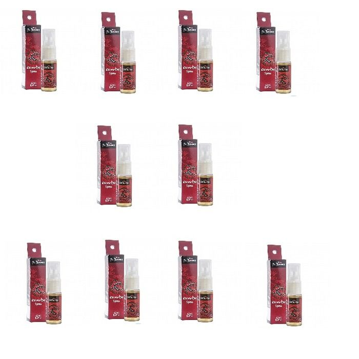 KIT 10 UNID. SPRAY EXCITANTE ORIENTAL 12ML HOT FLOWERS
