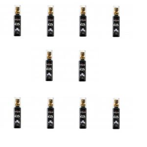 Kit 10 Unid. Aromatizante Bucal Power Black 18ml Hot Flowers