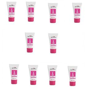 Kit 10 Unid. Excitante Feminino Excitation Bisnaga 25g Hot Flowers