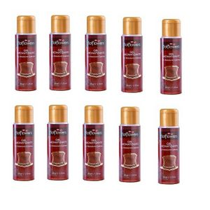 Kit 10 Unid. Gel Comestível Aromatizante Hot 35ml Chocolate Hot Flowers