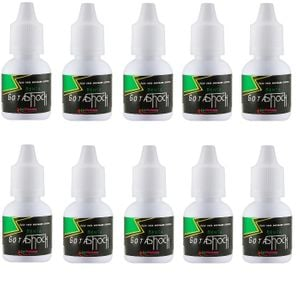 Kit 10 Unid. Excitante Gota Shock 10ml Menta La Pimienta
