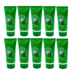 Kit 10 Unid. Lubrificante Aromático Uau! 60ml Menta Soft Love