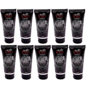 Kit 10 Unid. Lubrificante Aromático Uau! 60ml Black Ice Soft Love