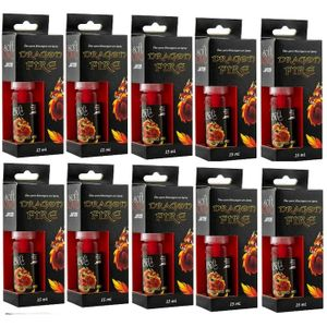 Kit 10 Unid. Jato Funcional Dragon Fire 15ml Soft Love