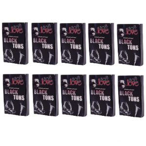 Kit 10 Unid. Excitante Unissex Black Tons 6g Soft Love