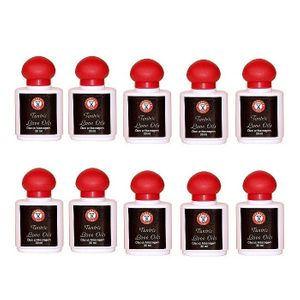 Kit 10 Unid. Óleo de Massagem Tantric Love Oil 30ml Pleasure Line