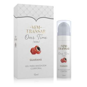 Prolongador Masculino Over Time Vem Transar 15ml Adão e Eva