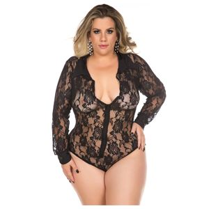 BODY SENSUAL PLUS SIZE EXECUTIVA PIMENTA SEXY