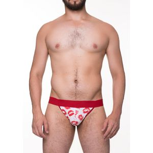 CUECA JOCKSTRAP ESTAMPADA BEIJO SD CLOTHING