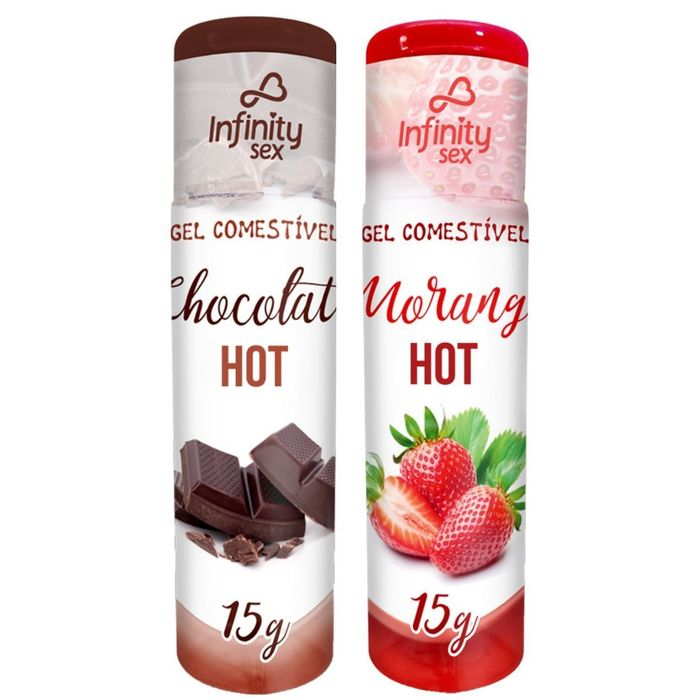 GEL COMESTIVÉL GOURMET HOT 15G INFINIT SEX