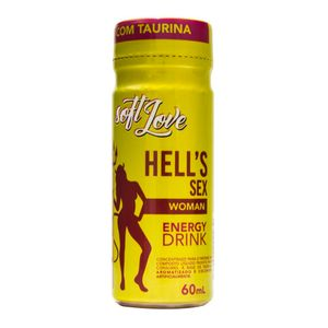 ENERGÉTICO AFRODISÍACO HELLS SEX WOMAN 60ML SOFT LOVE