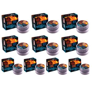 KIT 10 UNID. EXCITANTE FIRE & ICE LUBY 4G SOFT LOVE