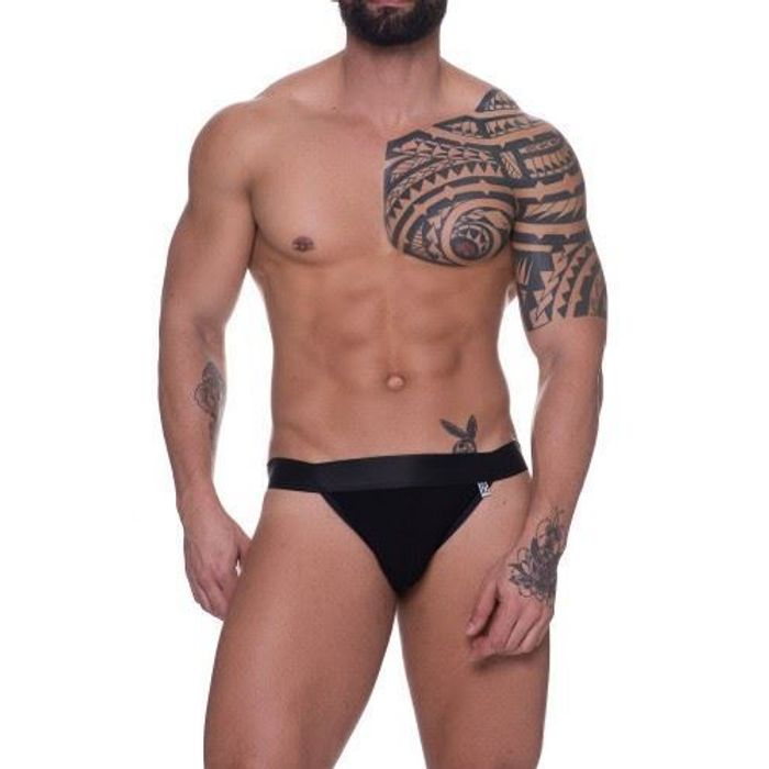 CUECA OPEN BACK PRETO SD CLOTHING