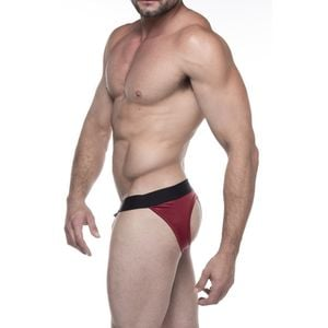 CUECA OPEN BACK VERMELHA CIRRE SD CLOTHING