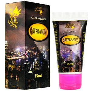 LUBRIFICANTE SILICONADO BATPRAMIM 15ML SECRET LOVE