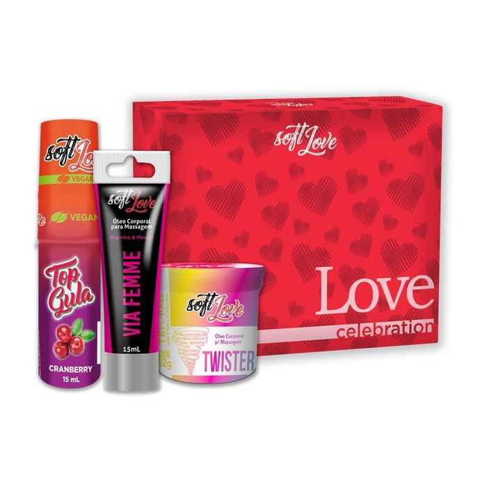 Kit Sensual Love Celebration Soft Love
