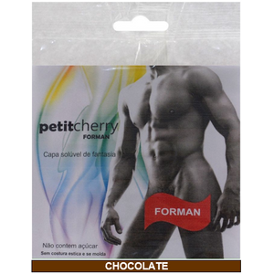 KIT 10 UNID. CAPA PENIANA PETIT CHERRY CHOCOLATE CAMINHOS DO AMOR