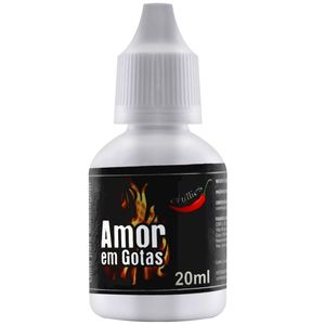 KIT 10 UNID. EXCITANTE AMOR EM GOTAS HOT 20ML CHILLIES