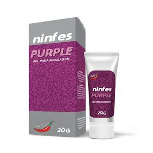 KIT 10 UNID. ADSTRINGENTE NINFES PURPLE 20G CHILLIES