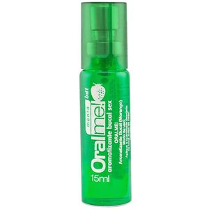 Kit 10 Unid. Aromatizante Bucal Oral Me 15ml Menta Intt