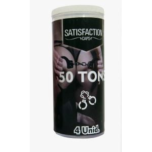 Kit 10 Unid. Bolinha Funcional Satisfaction 50 Tons C/4 Unid. Ies