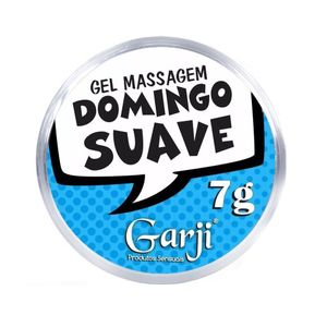 KIT 10 UNID. GEL DE MASSAGEM DOMINGO SUAVE 7G GARJI