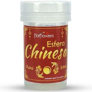 KIT 10 UNID. BOLINHA HOT BALL FUNCIONAL ESFERA CHINESA HOT FLOWERS