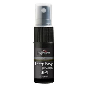 KIT 10 UNID. ANESTÉSICO DEEP EASY SPRAY 12ML HOT FLOWERS