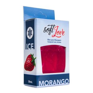 GEL COMESTÍVEL ICE 30ML SOFT LOVE