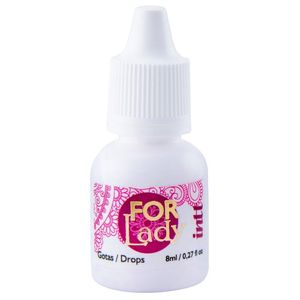 EXCITANTE FEMININO EM GOTAS FOR LADY 8ML INTT