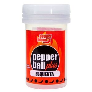 KIT 10 UNID. BOLINHA EXCITANTE PEPPER BALL PLUS ESQUENTA 2 UNID. PEPPER BLEND