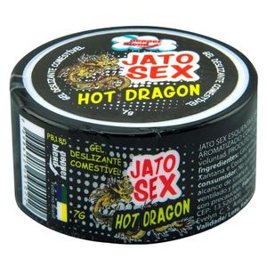 KIT 10 UNID. EXCITANTE EM GEL JATO SEX HOT DRAGON 7G PEPPER BLEND