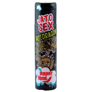 KIT 10 UNID. EXCITANTE JATO SEX HOT DRAGON 18ML PEPPER BLEND