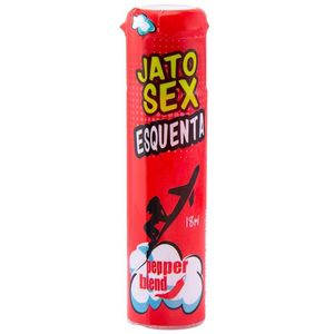 KIT 10 UNID. SPRAY EXCITANTE JATO SEX ESQUENTA 18ML PEPPER BLEND