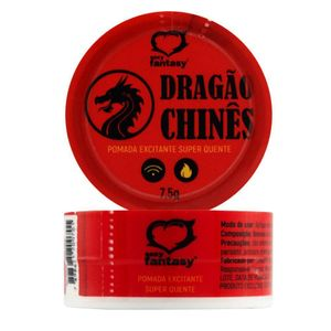 KIT 10 UNID. EXCITANTE DRAGÃO CHINES 7,5G SEXY FANTASY