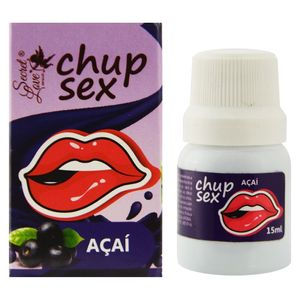 GEL COMESTÍVEL CHUP SEX 15ML SECRET LOVE
