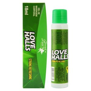 GEL COMESTÍVEL LOVE HALLS 18ML SECRET LOVE