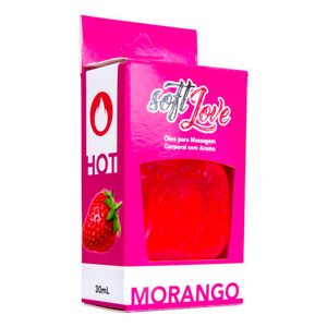 GEL COMESTÍVEL HOT 30ML SOFT LOVE
