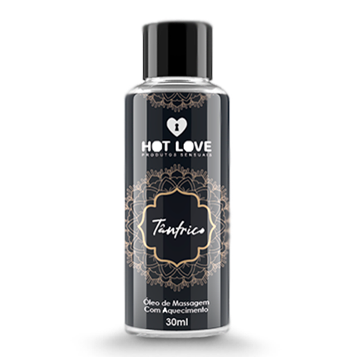 TÂNTRICO - ÓLEO DE MASSAGEM 30ML - HOT LOVE