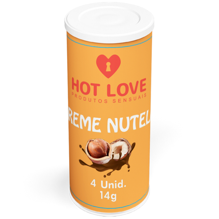 CAPSULAS FUNCIONAIS TREME NUTELLA 4UN - HOT LOVE