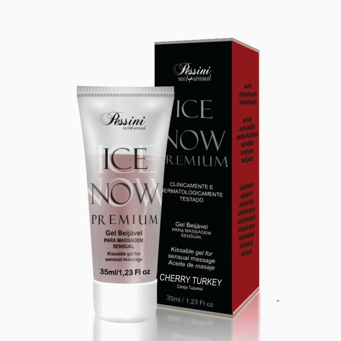 ICE NOW PREMIUM CEREJA TURQUESA 35ML - PESSINI