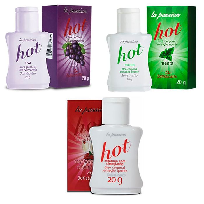 GEL HOT COMESTÍVEL 20G SOFISTICATTO
